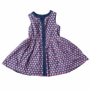 Crewcuts Pink & Navy Dress